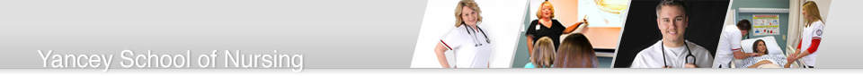 Yancey School of Nursing Header Image