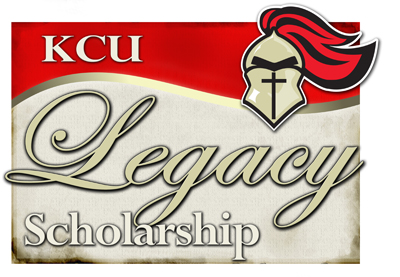 KCU Legacy Scholarship Graphic