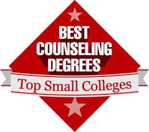 Best Counseling Degree Badge
