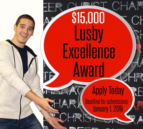 Lusby Award tile