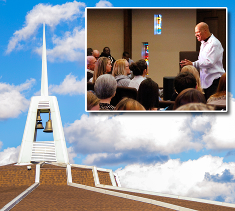 chapel service tile