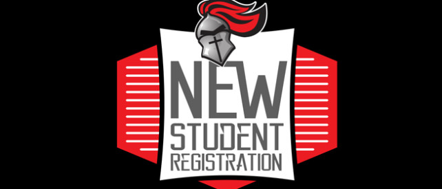 New Student Registration web banner