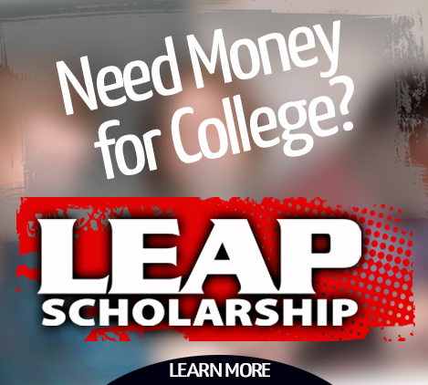 LEAP Scholarship tile