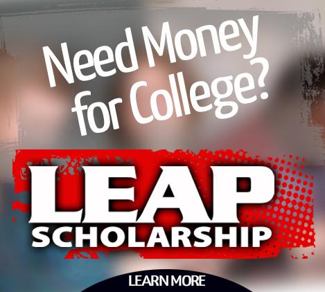 LEAP Scholarship tile
