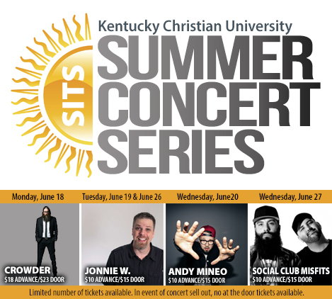 Summer Concert Series tile 2018