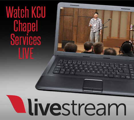 Livestream tile chapel services