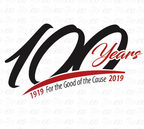 Centennial logo tile
