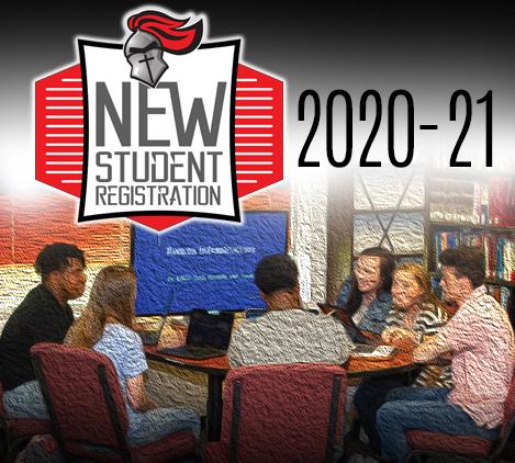new student reg. tile 2020-21